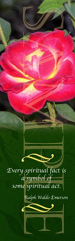 Spirituality Rose Bookmark