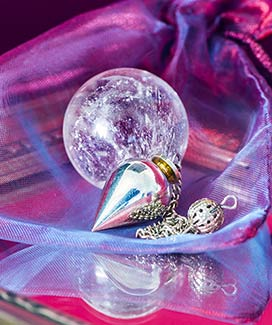 Pendulum with Crystal Ball